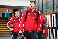 Sheffield United's Michael Verrips arrives ahead of the Premier League match at Selhurst Park, London. Picture date: 1st February 2020. Picture credit should read: Paul Terry/Sportimage