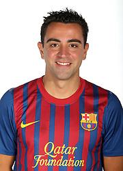24.08.2011, Barcelona, ESP, FC Barcelona Fotocall, im Bild Portrait von Xavi Hernandez, EXPA Pictures © 2011, PhotoCredit: EXPA/ Alterphotos/ ALFAQUI/ Gregorio