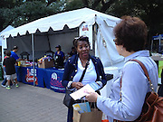 Energy Day attendees received information about the proposed 2012 Houston Schools Bond.<br />