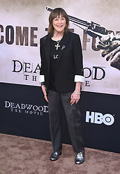 May 14, 2019 - Hollywood, California, U.S. - Geri Jewell arrives for the premiere of HBO's 'Deadwood' Movie at the Cinerama Dome theater. (Credit Image: © Lisa O'Connor/ZUMA Wire)