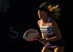 October 2, 2018 - Danielle Collins of the United States in action during her second-round match at the 2018 China Open WTA Premier Mandatory tennis tournament (Credit Image: © AFP7 via ZUMA Wire)
