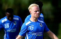 Ryan Broom looks on as Bristol Rovers take part in training on the first day in Portugal - Mandatory by-line: Robbie Stephenson/JMP - 18/07/2017 - FOOTBALL - Colina Verde Golf & Sports Resort - Moncarapacho, England - Sky Bet League One