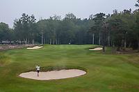 HILVERSUM - hole 9 .  bunker, bunkerslag, Hilversumsche Golf Club, COPYRIGHT  KOEN SUYK