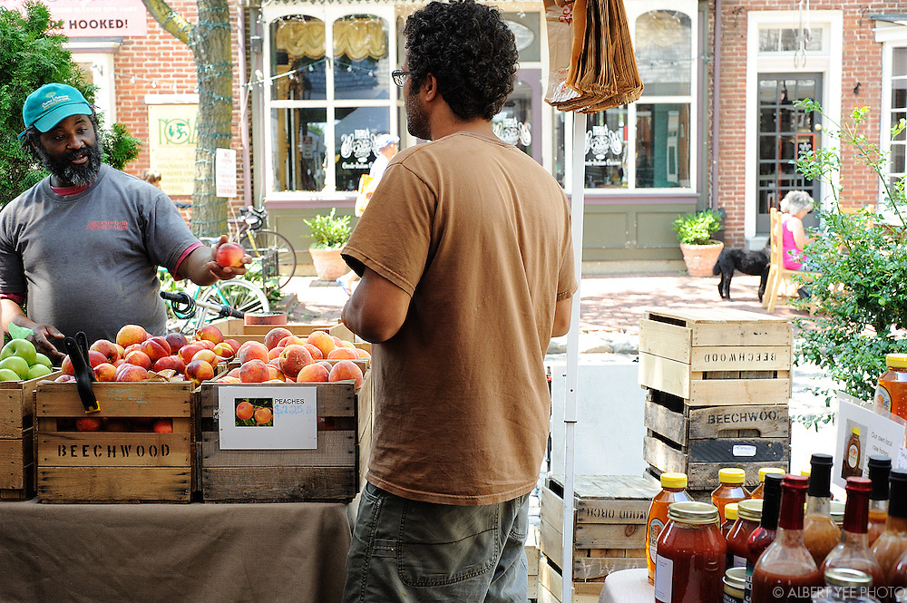 Headhouse Square Farmers Market<br /> <br /> August 11, 2013<br /> <br /> release signed