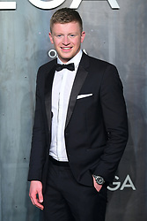 Adam Peaty attending the Lost in Space event to celebrate the 60th anniversary of the OMEGA Speedmaster held in the Turbine Hall, Tate Modern, 25 Sumner Street, Bankside, London.