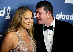 Mariah Carey and James Packer attend the 27th Annual GLAAD Media Awards at The Waldorf Astoria on May 14, 2016 in New York City, NY, USA. Photo y Dennis Van Tine/ABACAPRESS.COM  | 546808_022 New York City Etats-Unis United States