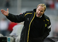 Fotball<br /> Bundesliga<br /> 04.02.07<br /> Borussia Dortmund - VfB Stuttgart<br /> Dortmunds trener Juergen Roeber<br /> DIGITALSPORT / NORWAY ONLY