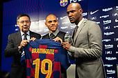 Soccer-FC Barcelona Press Conference-Feb 20, 2020