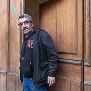 Piccolo Teatro Grassi, Milano, Italia, 29 Marzo 2021. Beppe Cosentini, 49 anni, attrezzista violento.