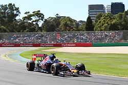 Max Verstappen (NDL) Scuderia Toro Rosso STR10  - Formula1 World Championship 2015 - Round 01 at Melbourne Albert Park, Melbourne, Australia, Friday 13th March 2015 ** USE ONLY NETHERLANDS **