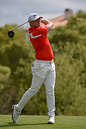 Matthew Wallace (ENG) watches his tee shot on 3 during day 2 of the WGC Dell Match Play, at the Austin Country Club, Austin, Texas, USA. 3/28/2019.<br /> Picture: Golffile | Ken Murray<br /> <br /> <br /> All photo usage must carry mandatory copyright credit (© Golffile | Ken Murray)