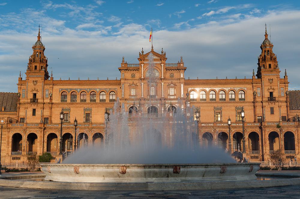 Plaza de España in Sevilla (Spain)