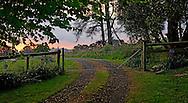 Country farm gate