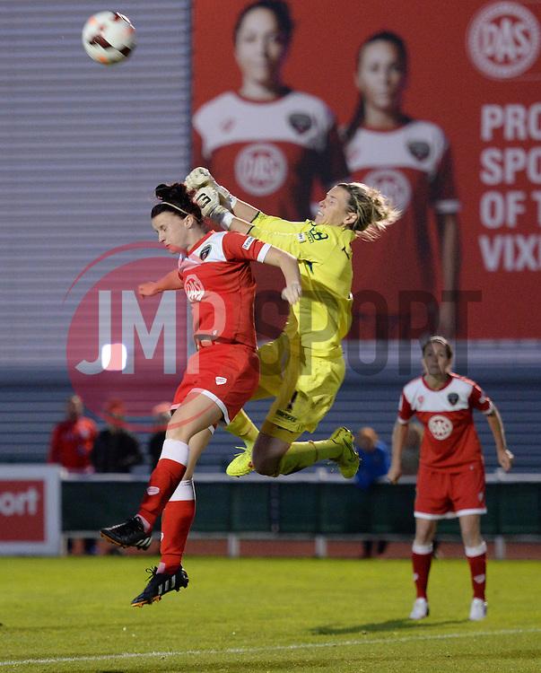 Bristol Academy Womens' Jasmine Matthews - Photo mandatory by-line: Alex James/JMP - Mobile: 07966 386802 - 04/10/2014 - SPORT - Football - Bristol - Stoke Gifford Stadium - Bristol Academy Womens v Notts County Ladies - Womens Super League