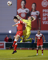 Bristol Academy Womens' Jasmine Matthews - Photo mandatory by-line: Alex James/JMP - Mobile: 07966 386802 - 04/10/2014 - SPORT - Football - Bristol - Stoke Gifford Stadium - Bristol Academy Womens v Notts County Ladies - Womens Super League