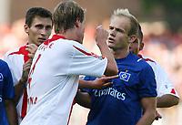 v.l. Kevin McKenna Cottbus, David Jarolim<br /> Bundesliga FC Energie Cottbus - Hamburger SV 2:2<br /> Norway only