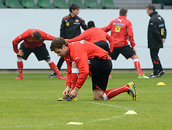12.11.2012, Waldstadion, Pasching, AUT, Testspiel, Oesterreich vs Elfenbeinkueste, Training OeFB Team, im Bild Andreas Ivanschitz // during practice session of OeFB team Austria before the international friendly match between Austria and Ivory Coast at the Waldstadion, Pasching, Austria on 2012/11/12. EXPA Pictures © 2012, PhotoCredit: EXPA/ Reinhard Eisenbauer