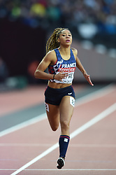 August 8, 2017 - London, England, United Kingdom - Estelle RAFFAI, France, during 200 meter  heats in London at the 2017 IAAF World Championships athletics v. (Credit Image: © Ulrik Pedersen/NurPhoto via ZUMA Press)