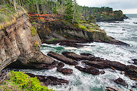 This purely wild coastline on Washington's Olympic Peninsula, is the meeting point where the Pacific Ocean joins the Strait of Juan de Fuca.