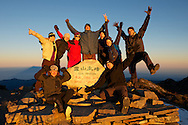 Our great group of Snow Mountain Summiters!