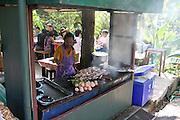 Thailand food vendor stall