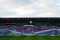 A general view of Cardiff City Stadium ahead of the European Qualifier game between Wales and Andorra - Mandatory byline: Dougie Allward/JMP - 07966 386802 - 13/10/2015 - FOOTBALL - Cardiff City Stadium - Cardiff, Wales - Wales v Andorra - European Qualifier 2016 - Group B