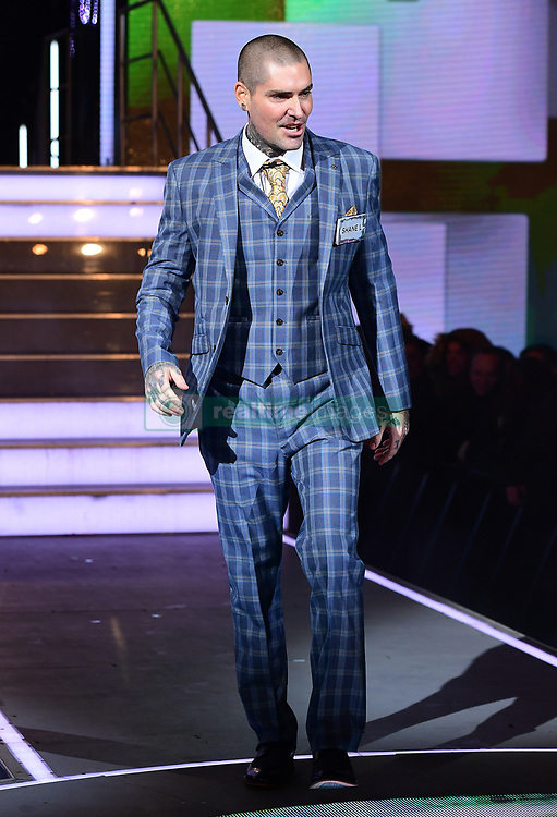 Shane Lynch enters the house during the Celebrity Big Brother Men's Launch held at Elstree Studios in Borehamwood, Hertfordshire. PRESS ASSOCIATION Photo. Picture date: Friday January 5, 2018. See PA story SHOWBIZ CBB Housemates. Photo credit should read: Ian West/PA Wire