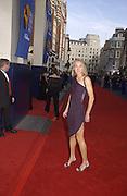 Paula Radcliffe . TV Bafta Awards. 21 April 2002. © Copyright Photograph by Dafydd Jones 66 Stockwell Park Rd. London SW9 0DA Tel 020 7733 0108 www.dafjones.com