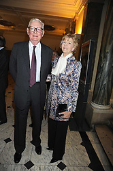 SIR ANTHONY & LADY TENNANT at the opening of the Royal Academy of Arts Byzantium 330-1453 exhibition held at the RA, Burlington House, Piccadilly, London on 21st October 2008.