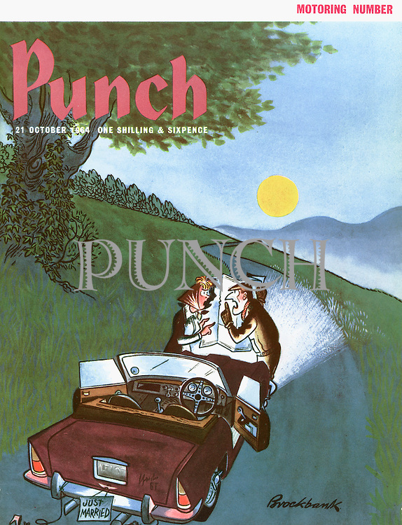 Punch (Front cover, 21 October 1964)