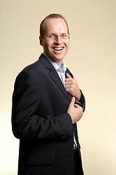 RUMST, BELGIUM - MAY-10-2006 - Jan Vermeiren is a specialist in business networking. (PHOTO © JOCK FISTICK)