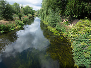 View of River Stour Fordwich, Kent UK