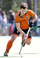 UTRECHT - HOCKEY - Sander Baart van OZ tijdens de hoofdklassewedstrijd tussen de mannen van Kampong en Oranje-Zwart (3-3). COPYRIGHT KOEN SUYK