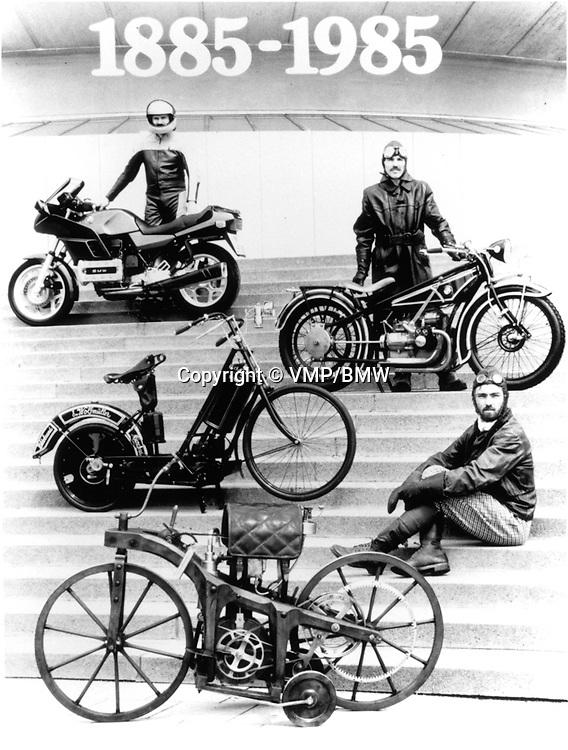 BMW Bikes 1885-1985, BMW Press Office
