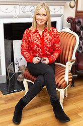 Sky Sports presenter and former Olympic gymnast Jacquie Beltrao, 53, poses for pictures at The Harley Street Skin Clinic in London following a facelift in December 2018 that she decided to have done as 'a present to herself' following an 11 year battle with breast cancer. London, January 21 2019.