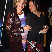 Heropening Madame Tussauds Amsterdam, Irene Moors en Sandra Brood