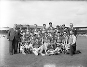 04/09/1955<br /> 09/04/1955<br /> 4 September 1955<br /> All-Ireland Minor Final: Tipperary v Galway at Croke Park, Dublin. Tipperary Team.