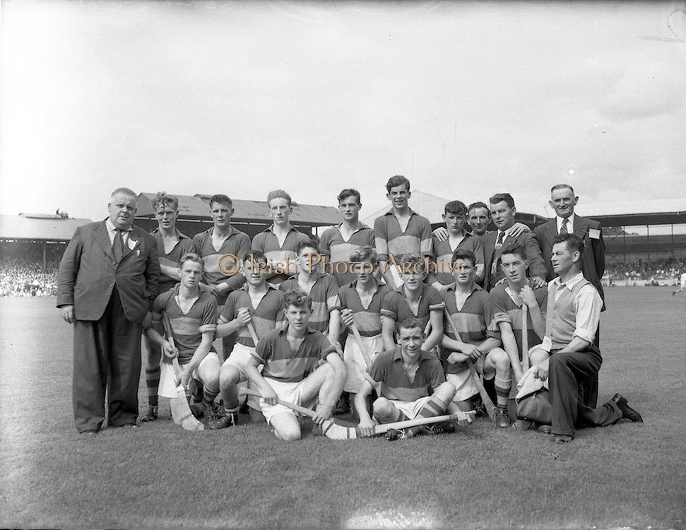 04/09/1955<br /> 09/04/1955<br /> 4 September 1955<br /> All-Ireland Minor Final: Tipperary v Galway at Croke Park, Dublin. Tipperary Team.