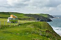Camping at Durness Scotland