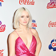Zara Larsson arrives at Capital's Jingle Bell Ball with Coca-Cola at London's O2 Arena on 9th December 2018, London, UK.
