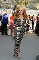 KELLY HOPPEN at the Glamour Women of the Year Awards in association with Pandora held in Berkeley Square Gardens, London on 4th June 2013.