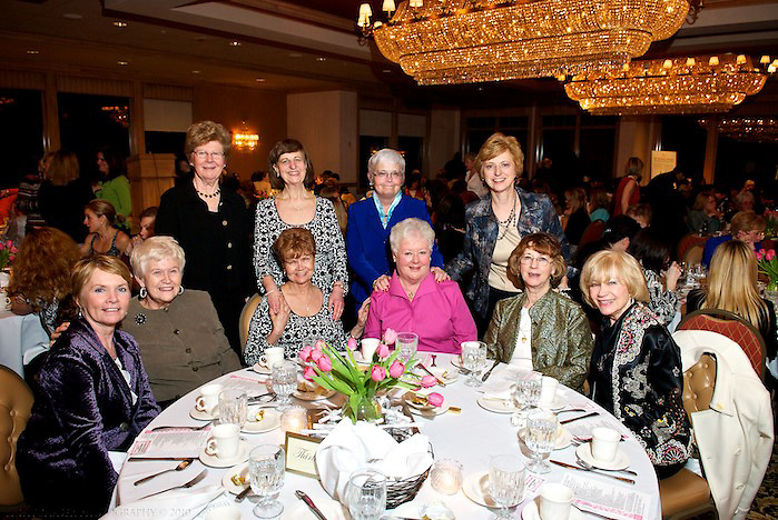 20100311 - March 11, 2010, Brockton, MA, USA  - LIGHTCHASER PHOTOGRAPHY - Annual 100 Lovely Ladies Dinner to benefit My Brother's Keeper of Easton MA held at Thorny Lea Golf Club in Brockton MA on Thursday evening March 11, 2010. The annual fundraiser is an all-female gathering save for My Brother's Keeper co-founder Jim Orcutt who arrived in a full tuxedo for the night....( lightchaser photography by j. kiely jr. © 2010 )