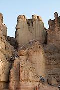 Israel, Negev, Timna Valley, Solomon's Pillars