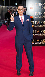 The Laurence Olivier Awards - Red Carpet Arrivals. Gok Wan attends The Laurence Olivier Awards at the Royal Opera House, London, United Kingdom. Sunday, 13th April 2014. Picture by Daniel Leal-Olivas / i-Images