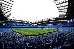 A general view of the Etihad Stadium - Mandatory byline: Matt McNulty/JMP - 07966386802 - 12/04/2016 - FOOTBALL - Etihad Stadium -Manchester,England - Manchester City v Paris Saint-Germain - UEFA Champions League - Quarter Final Second Leg