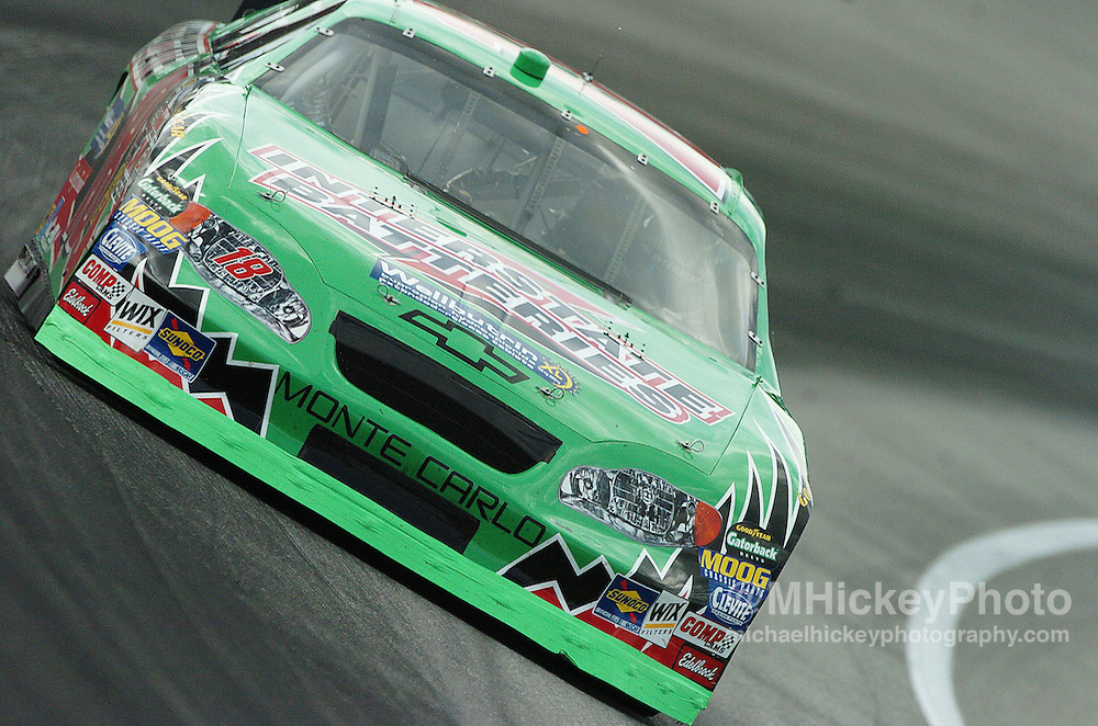 Bobby Labonte practices for the Brickyard 400