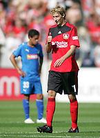 Fotball<br /> Bundesliga Tyskland<br /> 30.08.2008<br /> Foto: Witters/Digitalsport<br /> NORWAY ONLY<br /> <br /> v.l. Enttaeuschung Carlos Eduardo, Stefan Kiessling Leverkusen<br /> Bundesliga Bayer 04 Leverkusen - TSG 1899 Hoffenheim