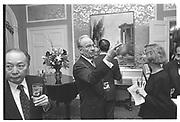 RUPERT MURDOCH, Deng Xiaxoping  book party, Waldorf Towers 15 feb 95