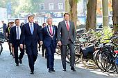 Koning Willem Alexander bij viering eerste lustrum ProDemos