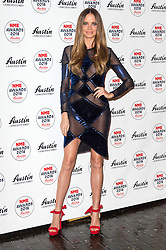 © Licensed to London News Pictures. 17/02/2016. ALICIA ROUNTREE arrives at the NME Awards 2016 with Austin, Texas.  Previous winners of NME's Godlike Genius Award include Suede, Blondie, The Clash, Paul Weller, The Cure, Manic Street Preachers, New Order & Joy Division, Dave Grohl, Noel Gallagher and Johnny Marr.  London, UK. Photo credit: Ray Tang/LNP